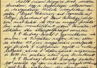 1. Kovács György első ajánlólevele
