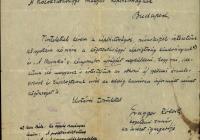 12. Gragger Róbert levele a Közoktatásügyi Népbiztosságnak