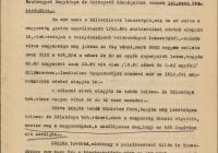 12. Selmec-és Bélabánya felterjesztése Jászi Oszkárhoz a város megmentése érdekében