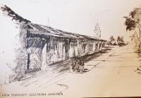 19. Sajókazinc régi község részletes kompozíciós tervtanulmánya (Tervező: Balla Tibor)