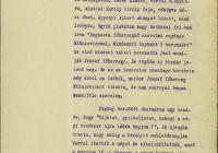 3.  Hadik Klára levele Zichy Eleonórának a napi történésekről