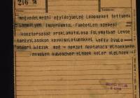 5. A magyarországi németek Felső-magyarországi Néptanácsának tiltakozása