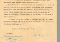 6. Dr. Szilárd Rezső nyilatkozata az elhurcolt nagymarosiak érdekében való fellépéséről
