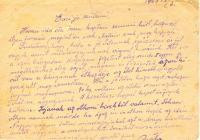 6. Kelemen István hatodik tábori levelezőlapja
