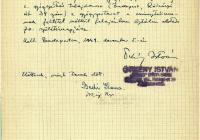 6. Örkény István felajánlja gyógyszertárát Sztálin 70. születésnapjára
