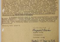 7. Hegedűs István levele a Magyar Dolgozók Pártja Országos Központjának Politikai Bizottsága részére