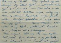 7. Orosz Károly tüzér megfigyelő levele anyjához, özv. Orosz Lajosné br. Kemény Annához