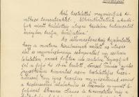 A Munkácsi Nemzeti Tanács levele Eckmann János támogatása kapcsán