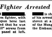 Amerikai újságcikkek [J. B.]- ről