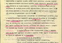 Hauptmann Ervin főhadnagy jelentése a keleti tót kérdésről