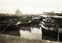 A csepeli kikötő 1937-ben (Új Nemzedék Napilap, Fortepan)