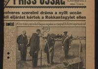 Horthy Miklós kormányzó ünnepélyesen megkezdi a punto franco medence építését 1937. május 12-én (Magyar Nemzeti Levéltár Országos Levéltára Z863-72d-61t)