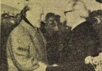 Kádár és Honecker a repülőtéren Népszabadság 1977.03.23.