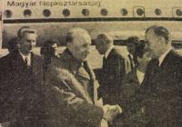 Megérkezés Budapestre Népszabadság 1977.03.26.