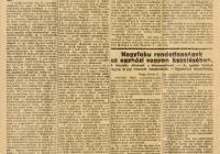 Kugyeray Ede cikke a Prágai Magyar Hírlapban