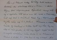 Szilassy Béla 1919. június 1-én írt levele