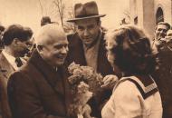2019: Nyikita Szergejevics Hruscsov 1958. április 8-i tatabányai látogatása
