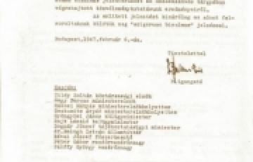 """0000: A magyar közvélemény álláspontja a """"köztársaság-ellenes"""" összeesküvésről (1947 január)"""