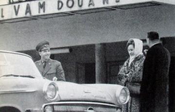 1961: Nylonharisnya magánimport 1961-ben