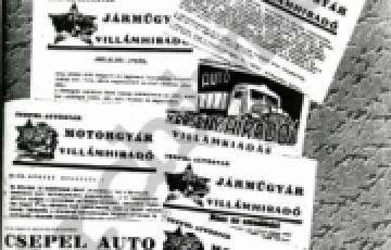 0000: Egy mára elfeledett üzemi lap, a Fényszóró
