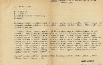1946: Romlott húst a munkásoknak