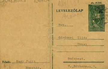 1944: A pokol fedőneve: Waldsee. Magyar foglyok levelei Auschwitzból